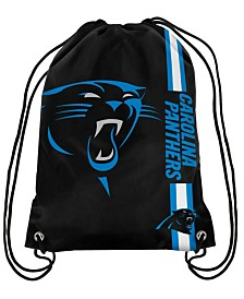 Forever Collectibles Carolina Panthers Big Logo Drawstring Bag