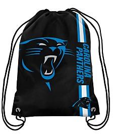 Forever Collectibles Carolina Panthers Big Logo Drawstring Bag