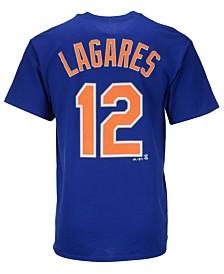 Majestic Men's Juan Lagares New York Mets Player T-Shirt