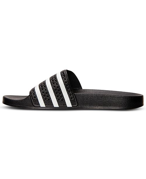 adfdbb927 adidas Men s Adilette Slide Sandals from Finish Line   Reviews - All ...