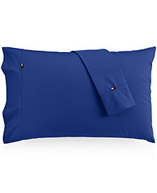Tommy Hilfiger Solid Core Pair of King Pillowcases