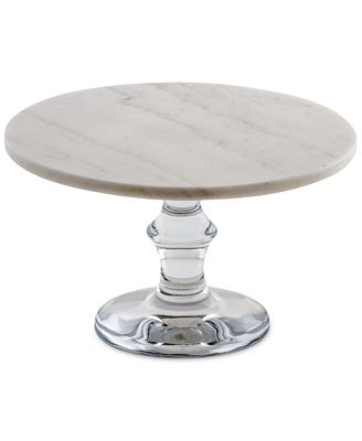 marble cake stand thirstystone white marble cake stand with glass base 5702