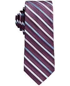 Calvin Klein Gemstone Stripe Tie, Big Boys
