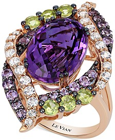 Crazy Collection® Multi-Stone Ring (7 ct. t.w.) in 14k Rose Gold, Created for Macy's