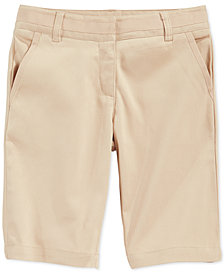 Nautica School Uniform Bermuda Shorts, Little Girls