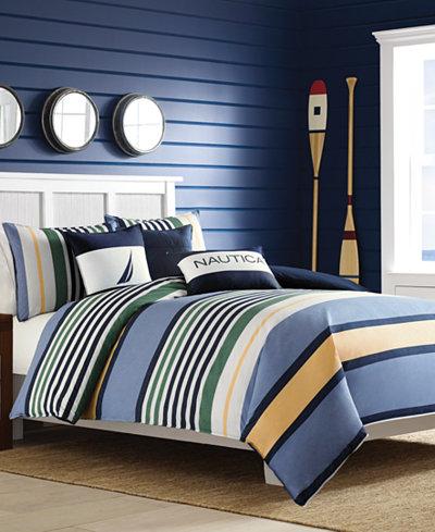CLOSEOUT! Nautica Dover Full/Queen Comforter Mini Set