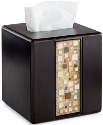 Bath, Mosaic Tissue Cover