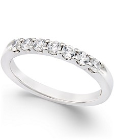Diamond Seven-Stone Channel Set Band in Platinum (1/2 ct. t.w.)