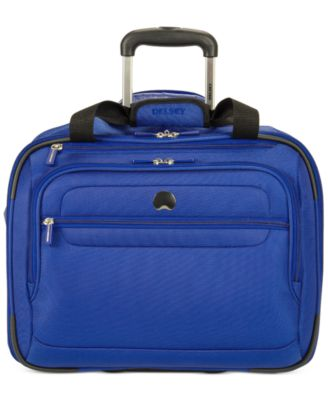 "Image of CLOSEOUT! Delsey Helium Fusion 17.5"" Rolling Trolley Carry On, Only at Macy's"