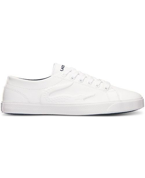 c744961ebee56 Lacoste Big Boys  Marcel RBR Casual Sneakers from Finish Line - Finish Line  Athletic Shoes - Kids - Macy s