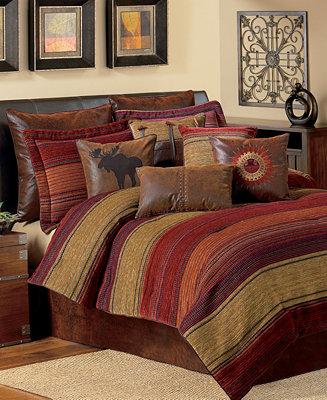 Croscill Plateau Queen 4 Pc Comforter Set Bedding