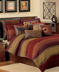 Croscill Plateau King 4-Pc. Comforter Set