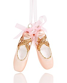 Holiday Lane Ballet Ballerina Shoes Ornament Created For Macy's