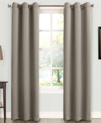 "Tabbey Room Darkening Grommet 40"" x 63"" Curtain Panel"