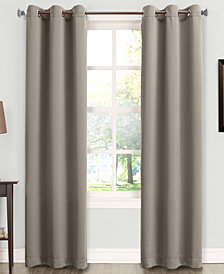 "Sun Zero Tabbey Room Darkening Grommet 40"" x 63"" Curtain Panel"