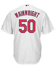 Majestic Kids' Adam Wainwright St. Louis Cardinals Replica Jersey, Big Boys (8-20)