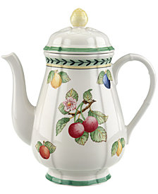 Villeroy & Boch Dinnerware, French Garden Coffee Pot