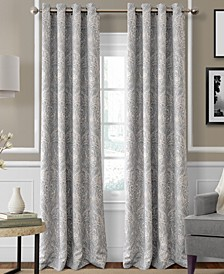 "CLOSEOUT! Julianne Paisley 52"" x 95"" Blackout Curtain Panel"