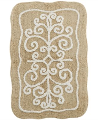Lenox Bath Accessories, French Perle Bath Rug