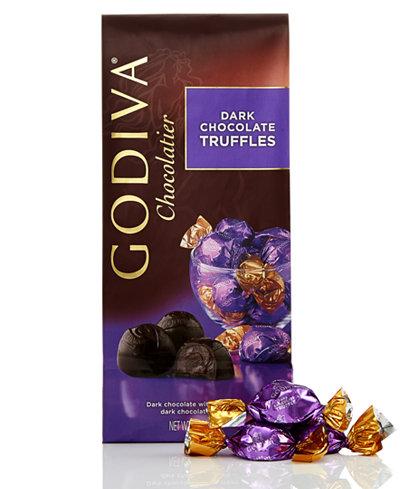 Godiva Individually Wrapped Dark Chocolate Truffles