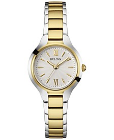 Women's Two-Tone Stainless Steel Bracelet Watch 28mm 98L217
