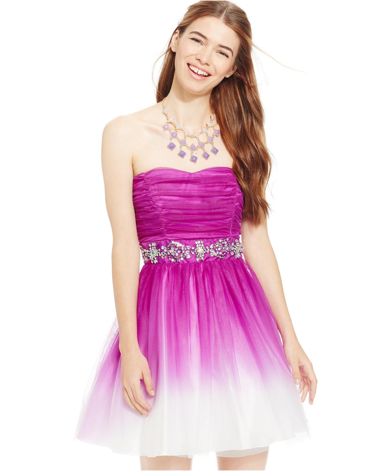 B Darlin Homecoming Dresses - Boutique Prom Dresses
