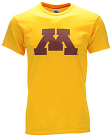 J America Men's Minnesota Golden Gophers Big Logo T-Shirt
