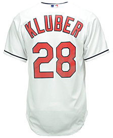 Majestic Men's Corey Kluber Cleveland Indians Replica Jersey