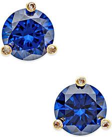 kate spade new york Gold-Tone Mini Round Stud Earrings