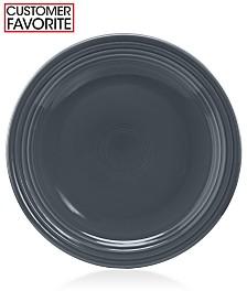 """Fiesta Slate 9"""" Luncheon Plate"""