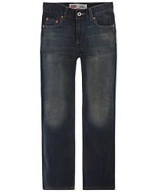 Levi's® 514™ Straight Fit Jeans, Big Boys Husky