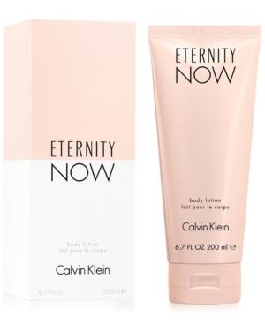 Calvin Klein Eternity Now Body Lotion, 6.7 oz