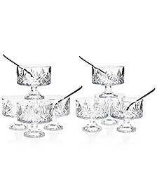 Dublin Collection Crystal 16-Pc. Trifle Tasting Set