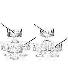 Godinger Dublin Collection Crystal 16-Pc. Trifle Tasting Set