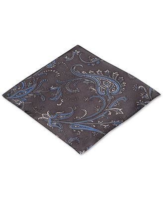 Ryan Seacrest Distinction Palm Paisley Pocket Square, Created for Macy's