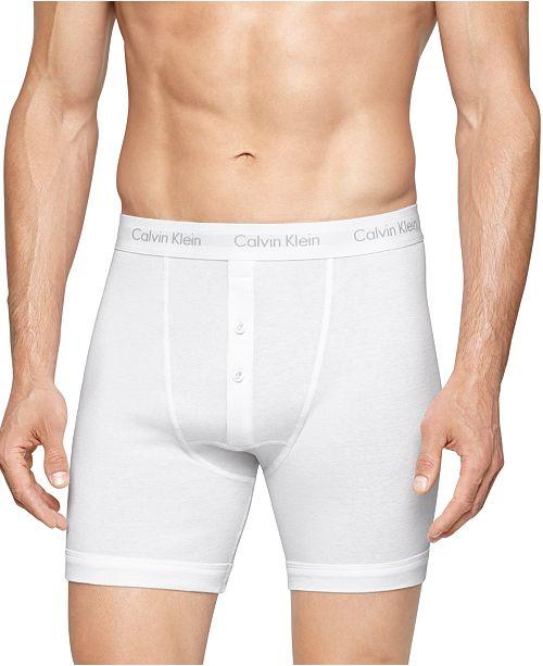 e197564ffa9 ... Calvin Klein Button-Fly Boxer Briefs