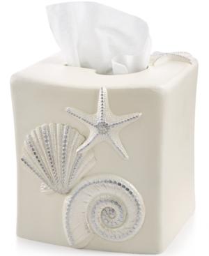 Avanti Bath Sequin Shells Tissue Cover Bedding