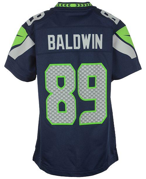 053af8f0 Kids' Doug Baldwin Seattle Seahawks Game Jersey, Big Boys (8-20)