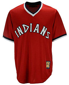 Majestic Men's Cleveland Indians Cooperstown Replica Jersey