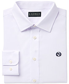 Lauren Ralph Lauren Solid Dress Shirt, Big Boys
