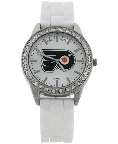 Game Time Women's Philadelphia Flyers Frost Watch