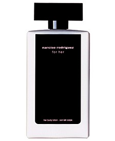 for her body lotion, 6.7 oz