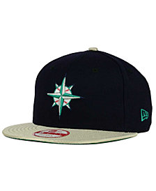 New Era Seattle Mariners 2-Tone Link Cooperstown 9FIFTY Snapback Cap