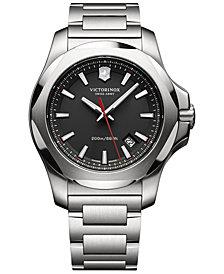 Victorinox Swiss Army Men's I.N.O.X. Stainless Steel Bracelet Watch 43mm 241723.1