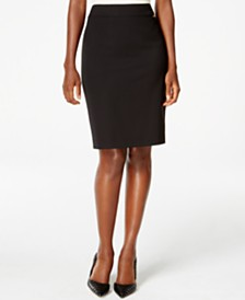 Tahari ASL Solid Pencil Skirt