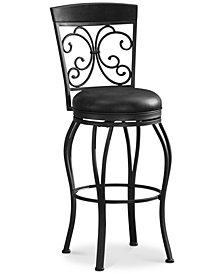 Amelia Bar Height Bar Stool, Quick Ship