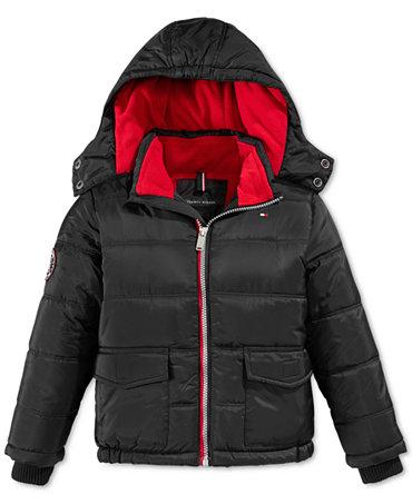 tommy hilfiger boys 39 puffer jacket kids baby macy 39 s. Black Bedroom Furniture Sets. Home Design Ideas
