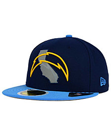New Era Los Angeles Chargers State Flective Redux 59FIFTY Cap