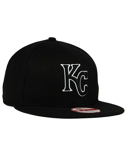 sale retailer d56f8 928a8 coupon code for new era kansas city royals black white 9fifty snapback cap  018df cdd5d