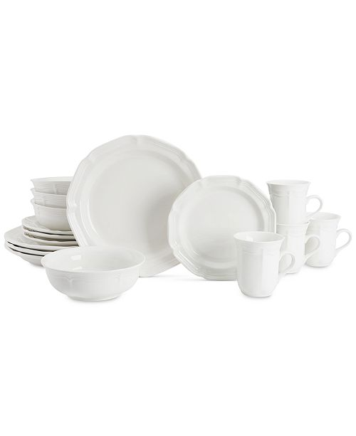 Mikasa French Countryside Collection 16-Pc. Dinnerware Set, Service for 4